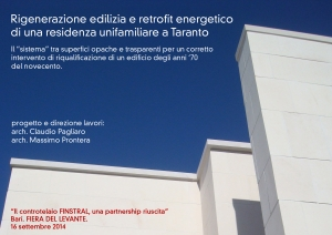 Project Day FINSTRAL alla Fiera del Levante - 16.09.2014